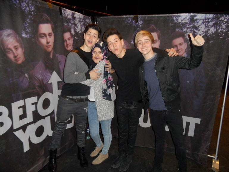 i met before you exit