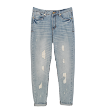 Ripped boyfriend jeans from ZoYou