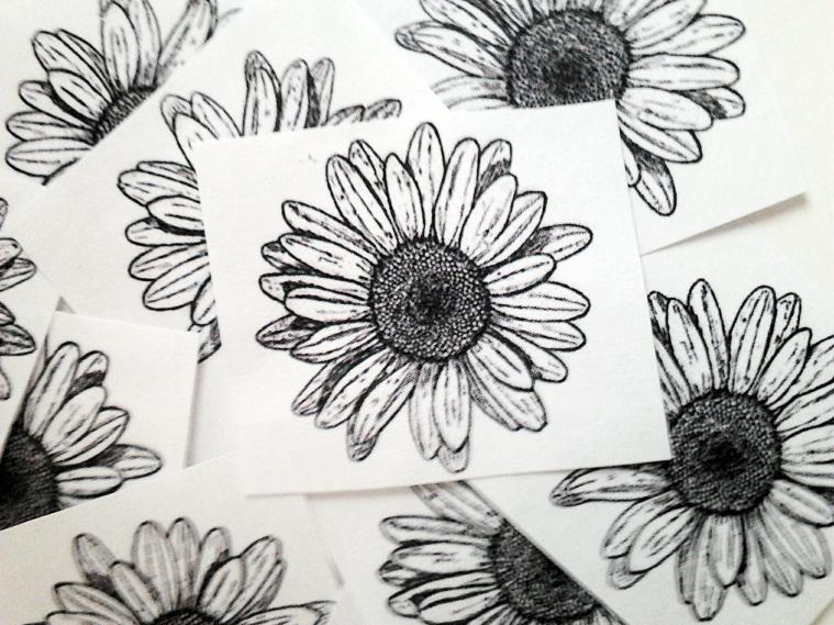 DIY agenda daisy template