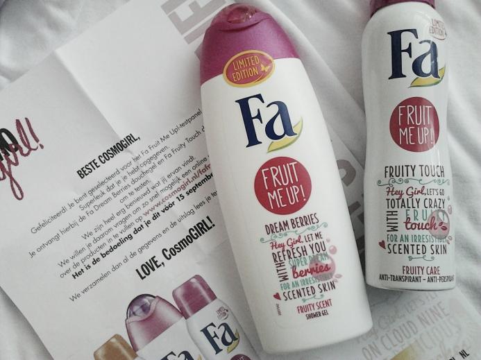 Fa Fruit Me Up deodorant and showergel