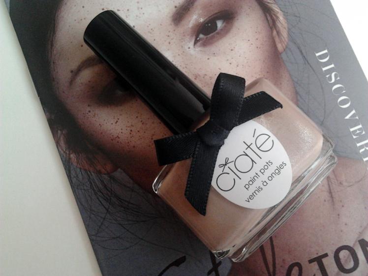 StyleTone Ciate Cream Tea nail polish